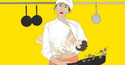 廚房裡沒有媽媽:懷孕生產等於女性主廚之路的終點?