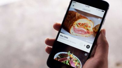 Uber 再推送餐服務 美食 10 分鐘到家