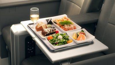 搶救飛機餐剩食