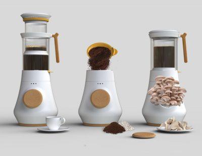 咖啡機長出蘑菇?咖啡渣再利用的新方向