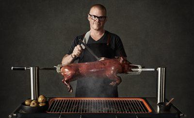 夢幻逸品再添一件,肥鴨主廚赫斯頓親自打造全新 BBQ 烤肉爐品牌