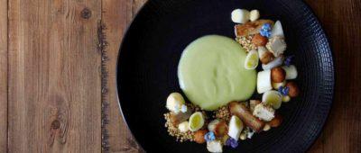 打破素食框架,主廚的解構蔬食料理
