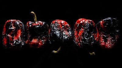 三種方式烤甜椒