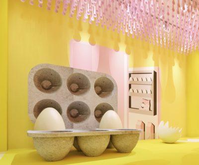 從現實踏入幻想:紐約雞蛋屋快閃展覽