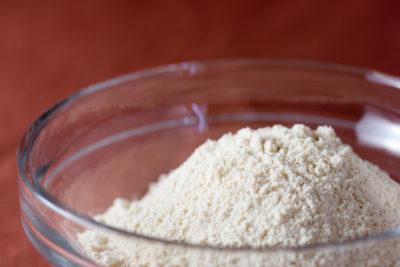 以高纖維食材替代麵粉:豆渣粉